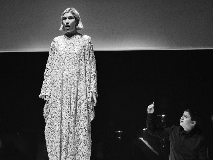 """Pauline Jacob in """"Der Schuss 2.6.1967"""""""